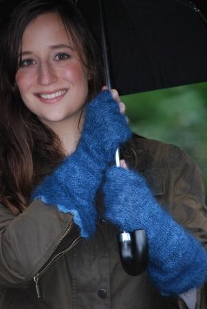 Bitten gloves