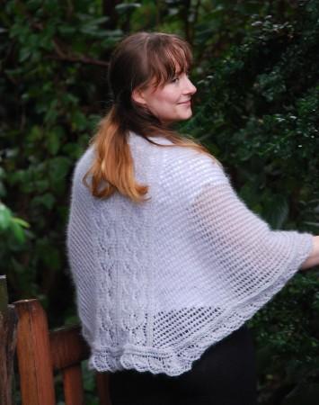 Isblomst shawl