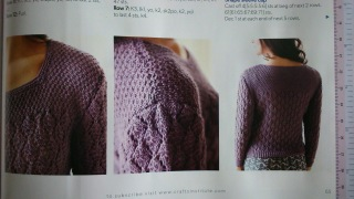 Close ups...scrutinize my knitting if you dare!