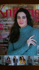 Cover of Knitting Mag, Feb 2014