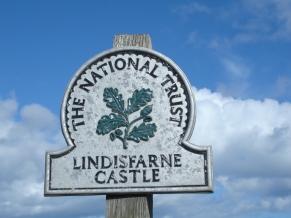 LindisfarneCastleSign