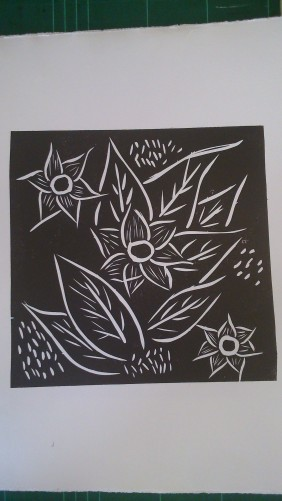 LinocutFlowers
