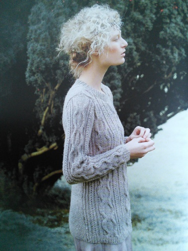 Rowan58BlusterySweater